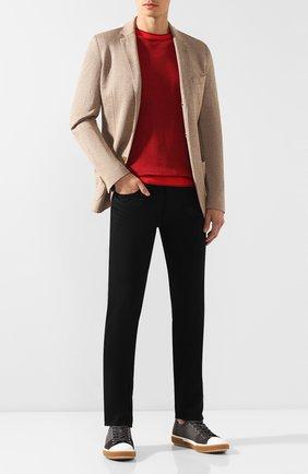 Мужские джинсы RALPH LAUREN черного цвета, арт. 790563748 | Фото 2