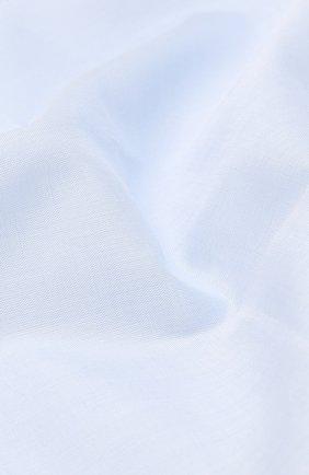 Мужской хлопковый платок SIMONNOT-GODARD голубого цвета, арт. M0NDRIAN | Фото 2