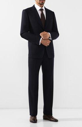 Мужской шерстяной пиджак TOM FORD темно-синего цвета, арт. 631R14/10SP40   Фото 2