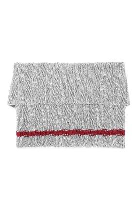 Детский шарф- хомут ALETTA серого цвета, арт. ZF999858C0L | Фото 2