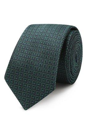 Детский галстук ALETTA зеленого цвета, арт. AMP999411 | Фото 1