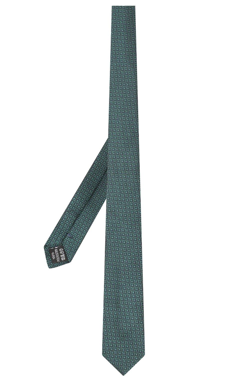 Детский галстук ALETTA зеленого цвета, арт. AMP999411   Фото 2