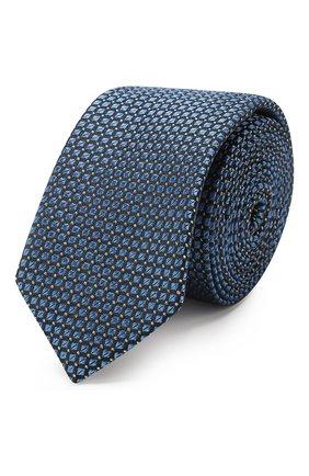 Детский галстук ALETTA синего цвета, арт. AMP999411 | Фото 1