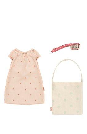 Детского одежда для игрушки мышка MAILEG розового цвета, арт. 16-8780-02 | Фото 1