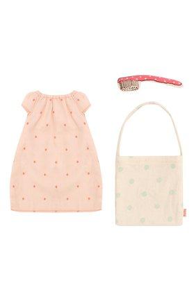 Детского одежда для игрушки мышка MAILEG розового цвета, арт. 16-8780-02 | Фото 2