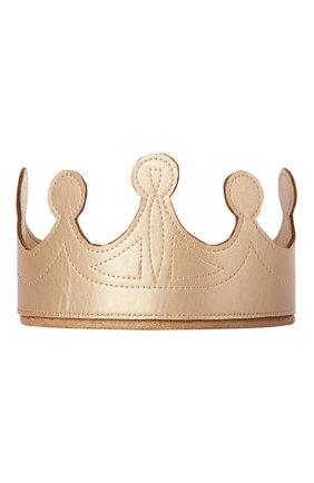 Детского игрушечная корона MAILEG золотого цвета, арт. 21-7116-00 | Фото 1