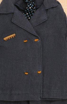 Детского одежда для куклы папа джинджер MAILEG синего цвета, арт. 17-6134-00   Фото 2
