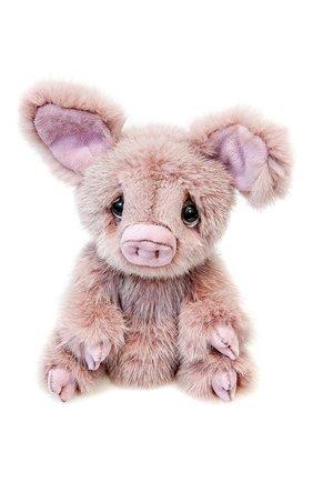 Детского игрушка поросенок CAROLON розового цвета, арт. 2-01106 | Фото 2