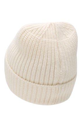 Мужская шерстяная шапка STONE ISLAND белого цвета, арт. 7115N10B5 | Фото 2