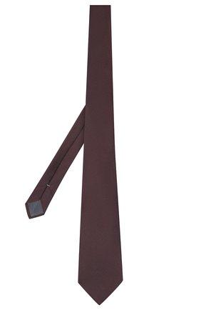 Мужской шелковый галстук ERMENEGILDO ZEGNA бордового цвета, арт. Z6E15/1UM | Фото 2