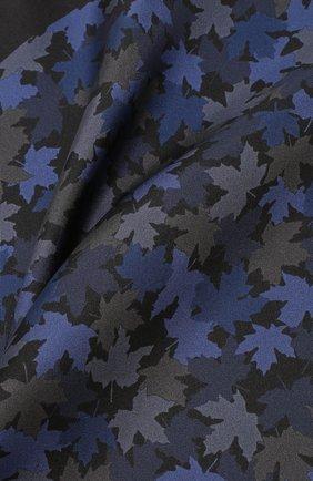 Мужской шелковый платок KITON темно-синего цвета, арт. UP0CHCX02S55 | Фото 2