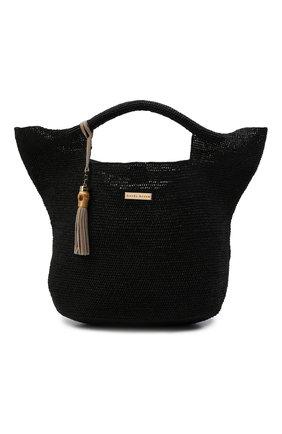 Женская сумка из рафии HEIDI KLEIN черного цвета, арт. AC15HK18GBBLR03 | Фото 1