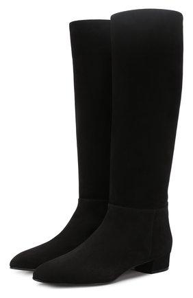 Женские замшевые сапоги CASADEI черного цвета, арт. 1S691L0201CAM0S9000 | Фото 1
