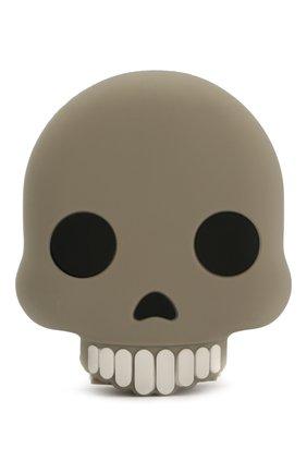 Мужского портативный аккумулятор skull MOJI POWER серого цвета, арт. Skull | Фото 1