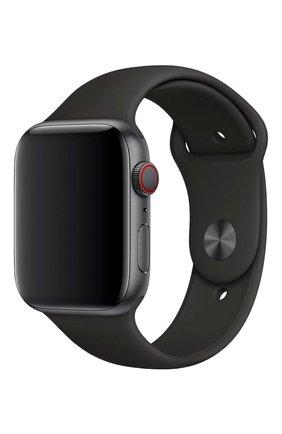 Мужской ремешок apple watch 44mm sport band APPLE черного цвета, арт. MTPL2ZM/A | Фото 1