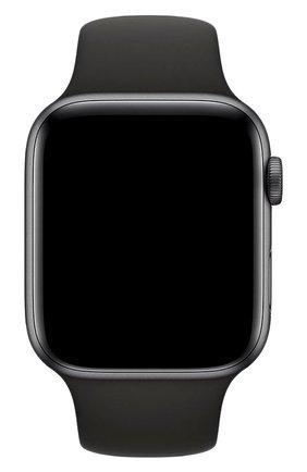 Мужской ремешок apple watch 44mm sport band APPLE черного цвета, арт. MTPL2ZM/A | Фото 2