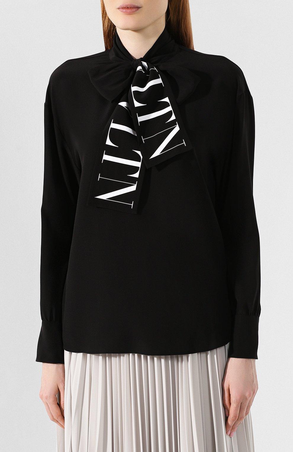 Шелковая блузка | Фото №3