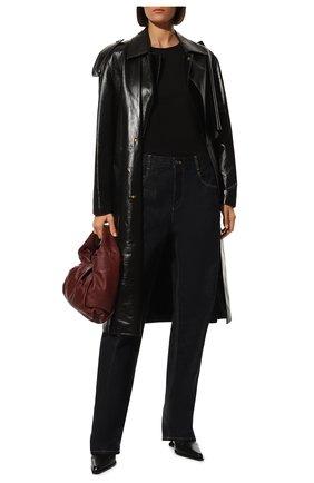 Женская хлопковая футболка DOLCE & GABBANA черного цвета, арт. F8H32T/G7TLC | Фото 2