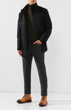 Мужские кожаные ботинки BRUNELLO CUCINELLI бежевого цвета, арт. MZUCPAX951 | Фото 2