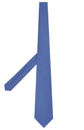 Мужской шелковый галстук KITON синего цвета, арт. UCRVKLC09F57 | Фото 2