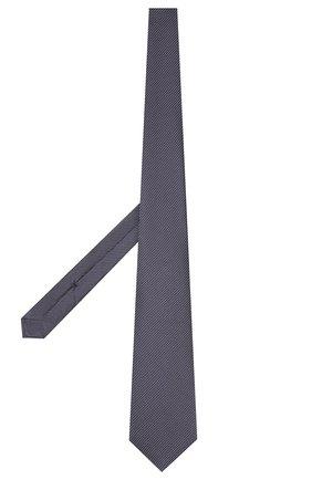 Мужской шелковый галстук KITON темно-синего цвета, арт. UCRVKLC08F73 | Фото 2