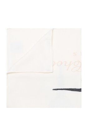 Детского одеяло из шерсти и кашемира ATELIER CHOUX белого цвета, арт. CASHMERE BLANKET ATELIER CH0UX | Фото 1