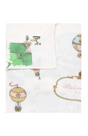 Детского одеяло из шерсти и кашемира ATELIER CHOUX белого цвета, арт. C0UVERTURE EN CASHMERE VERSAILLES | Фото 1
