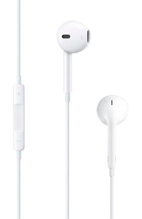 Мужские наушники earpods 3.5mm APPLE  белого цвета, арт. MNHF2ZM/A | Фото 1