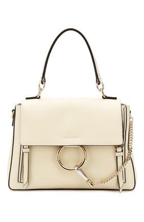 Женская сумка faye day small CHLOÉ белого цвета, арт. CHC17WS322HGJ | Фото 1
