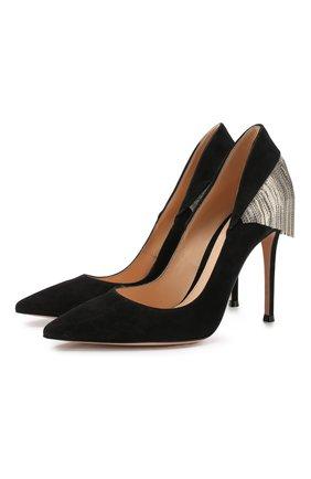 Замшевые туфли Britt 105 | Фото №1
