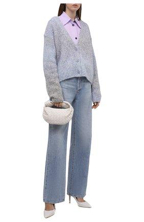 Женская кожаные туфли gianvito 85 GIANVITO ROSSI белого цвета, арт. G24580.85RIC.VITBIAN | Фото 2