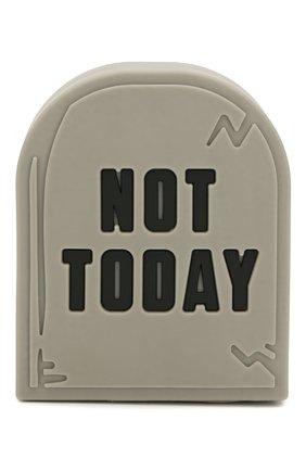 Мужского портативный аккумулятор not today MOJI POWER серого цвета, арт. NOT TODAY | Фото 1