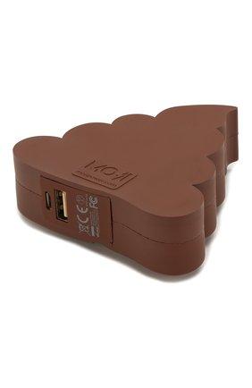 Мужского портативный аккумулятор poo MOJI POWER коричневого цвета, арт. MP001PO | Фото 2