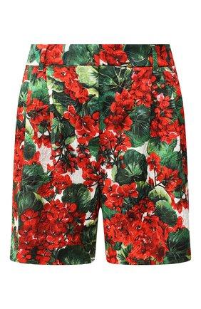 Женские шорты с принтом DOLCE & GABBANA разноцветного цвета, арт. FTA5MT/HSMY7 | Фото 1