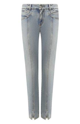 Женские джинсы GIVENCHY голубого цвета, арт. BW50EB50AG | Фото 1