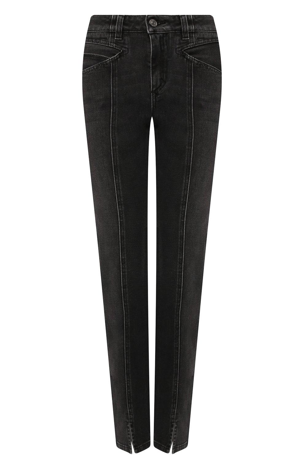 Женские джинсы GIVENCHY черного цвета, арт. BW50EB50AE | Фото 1