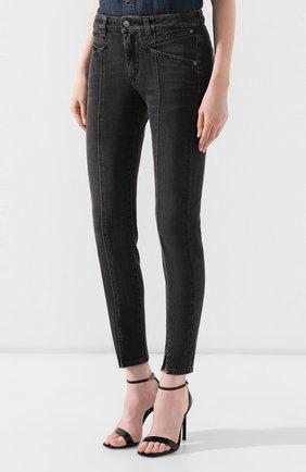 Женские джинсы GIVENCHY черного цвета, арт. BW50EB50AE | Фото 3