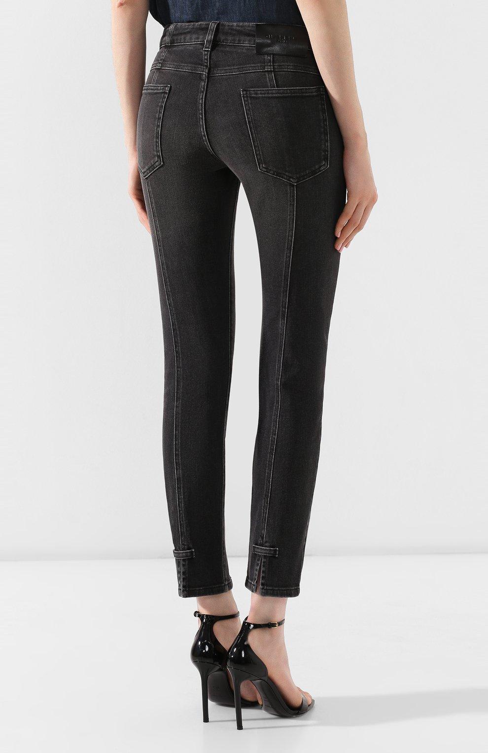 Женские джинсы GIVENCHY черного цвета, арт. BW50EB50AE | Фото 4
