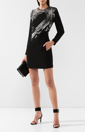 Платье с пайетками Givenchy черное | Фото №2