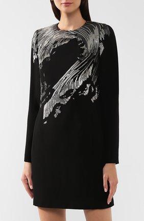 Платье с пайетками Givenchy черное | Фото №3