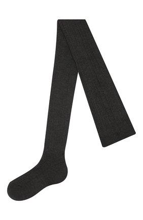 Женские кашемировые колготки BRUNELLO CUCINELLI темно-серого цвета, арт. M64990069P | Фото 1
