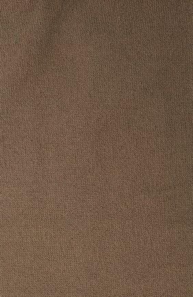 Женские кашемировые носки BRUNELLO CUCINELLI коричневого цвета, арт. M64945019P | Фото 2 (Материал внешний: Шерсть, Кашемир; Статус проверки: Проверена категория)