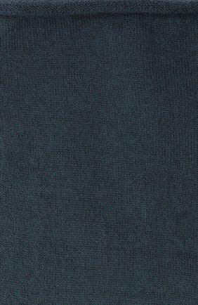Женские кашемировые носки BRUNELLO CUCINELLI синего цвета, арт. M64945019P | Фото 2 (Материал внешний: Шерсть, Кашемир; Статус проверки: Проверена категория)