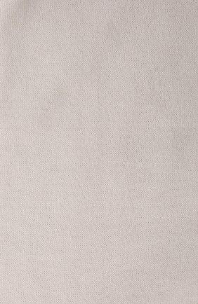 Женские кашемировые носки BRUNELLO CUCINELLI молочного цвета, арт. M64945019P | Фото 2 (Материал внешний: Шерсть, Кашемир; Статус проверки: Проверено, Проверена категория)