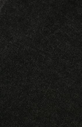 Женские кашемировые носки BRUNELLO CUCINELLI темно-серого цвета, арт. M64945019P | Фото 2 (Материал внешний: Шерсть, Кашемир; Статус проверки: Проверена категория)