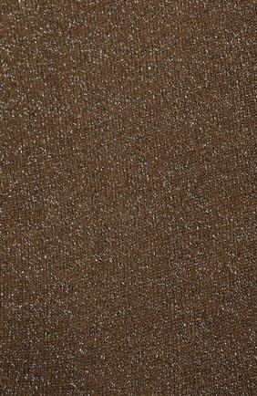Женские носки из смеси кашемира и шелка BRUNELLO CUCINELLI хаки цвета, арт. M41945019P | Фото 2