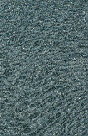 Женские носки из смеси кашемира и шелка BRUNELLO CUCINELLI бирюзового цвета, арт. M41945019P | Фото 2