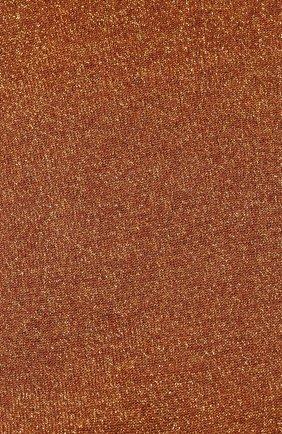 Женские носки из смеси кашемира и шелка BRUNELLO CUCINELLI оранжевого цвета, арт. M41945019P | Фото 2