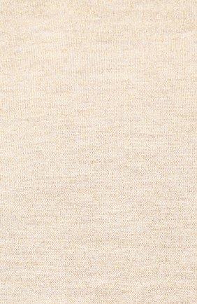 Женские носки из смеси кашемира и шелка BRUNELLO CUCINELLI бежевого цвета, арт. M41945019P | Фото 2