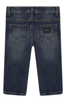 Детские джинсы DOLCE & GABBANA синего цвета, арт. L11F98/LD725 | Фото 2
